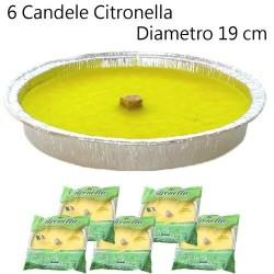 GROSSISTA CITRONELLA FIUACCOLA ALLUMINIO 11X2