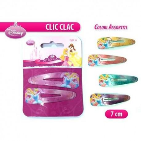 GROSSISTA CLIC CLAC PRINCESS 1 COPPIA