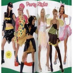 GROSSISTA COSTUME ADULTO PARTY NIGHT