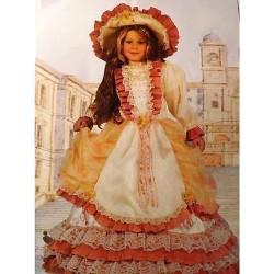 GROSSISTA COSTUME BAMBINA LADY ROMANTICA 3/4 ANNI