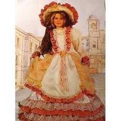 GROSSISTA COSTUME BAMBINA LADY ROMANTICA 4/5 ANNI