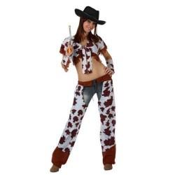 GROSSISTA COSTUME DA COW GIRL ADULTO