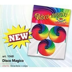 GROSSISTA DISCO MAGICO PZ.3 CM 4.5 C.32 EFFETTO GIRANDOLA +