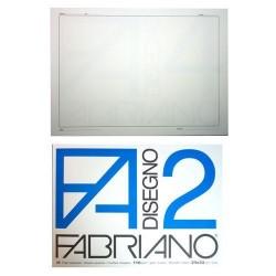GROSSISTA FABRIANO BLOCCO F2 24X33 SQUADRATO
