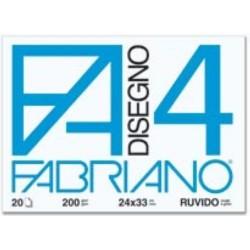 GROSSISTA FABRIANO BLOCCO F4 24X33 LISCIO