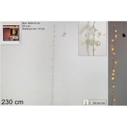GROSSISTA FILO PERLE 20 LUCI BATT. ART.EY20307WW-2