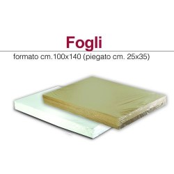 GROSSISTA FOGLIO 100X140 MONOLUCIDA BIANCA 80GR