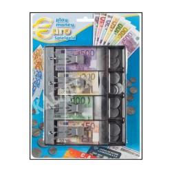 GROSSISTA GIOCO MONETE EURO 87PZ 150X20X185MM