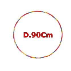 GROSSISTA HULA HOOP MULTICOLORE D.90CM IN PLASTICA