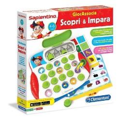 GROSSISTA GIOCASSOCIA SCOPRI E IMPARA 30X30X5CM 4/6ANNI - SA