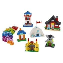 GROSSISTA LEGO 11008 MATTONCINI E CASE