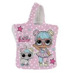 GROSSISTA IT'S SUMMER KIDS PONCHO LOL POLYESTER