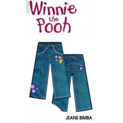 GROSSISTA JEANS BAMBINA WINNIE THE POOH