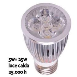 GROSSISTA LAMPADINA R.E. AMP. 4LEDS E27 5W 230V