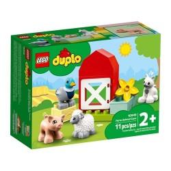 GROSSISTA LEGO 10949 GLI ANIMALI DELLA FATTORIA