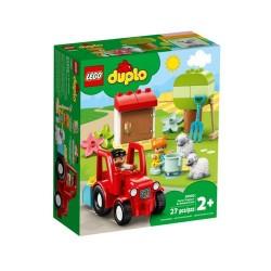 GROSSISTA LEGO 10950 IL TRATTORE DELLA FATTORIA E I SUOI ANI