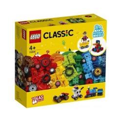 GROSSISTA LEGO 11014 MATTONCINI E RUOTE