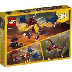 GROSSISTA LEGO 31102 DRAGO DEL FUOCO