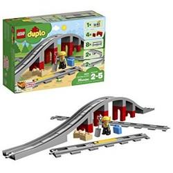 GROSSISTA LEGO 10872 DUPLO PONTE E BINARI FERROV.