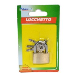 GROSSISTA LUCCHETTO MM 22 BLISTER