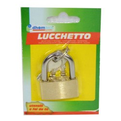 GROSSISTA LUCCHETTO MM 25 BLISTER