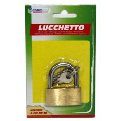 GROSSISTA LUCCHETTO MM 30 BLISTER