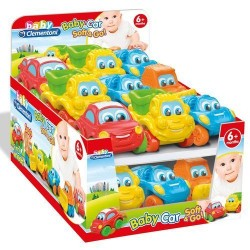 GROSSISTA BABY CAR SOFT E GO 9X7X6.5CM 6+MESI
