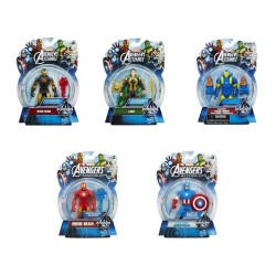 GROSSISTA AVENGERS ACTION FIGURES 10CM 5 SOGGETTI