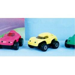 GROSSISTA AUTO IN PLASTICA RUOTE LIBERE ASS. 7CM +3ANNI
