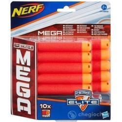 GROSSISTA NERF MEGA REFILL X 10