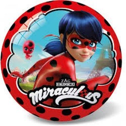 GROSSISTA PALLONE 23CM MIRACULOUS LADY BUG