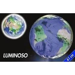 GROSSISTA PALLONE LUMINOSO TERRA 61CM