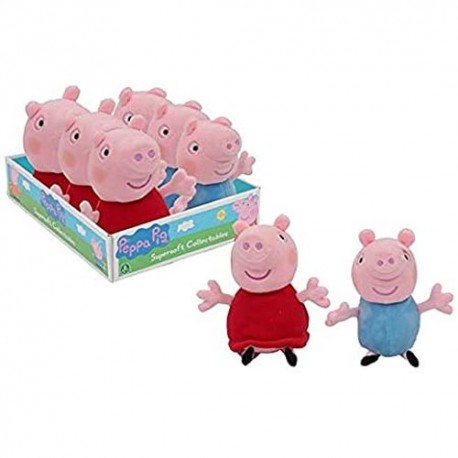 GROSSISTA PEPPA PIG PELUCHE COLLEZIONABILE 2ASS