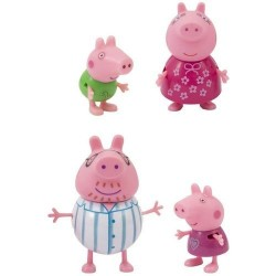 GROSSISTA PEPPA PIG SET FAMIGLIA REFRESH