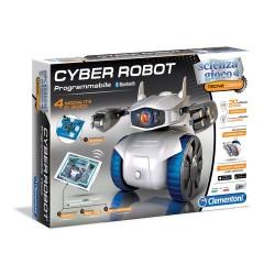 GROSSISTA CYBER ROBOT C/MODULO BLUETOOTH E 4GIOCHI 31X7X45CM