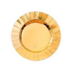 GROSSISTA PIATTI CM.20 PZ.8 GOURMET GOLD