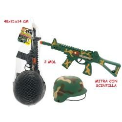 GROSSISTA FORZE ARMATE C/CASCO E MITRA C/SCINTILLA