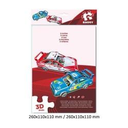GROSSISTA PUZZLE 3D 53PZ 2 AUTO