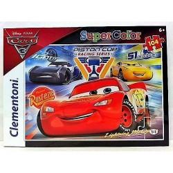 GROSSISTA PUZZLE PZ.104 CARS 3 27072 +6A CLEMENTONI