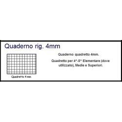 GROSSISTA QUADERNO MAXI FANT. 100GR 4M P.50.049