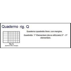 GROSSISTA QUADERNO MAXI FANT. 100GR Q P.50.049