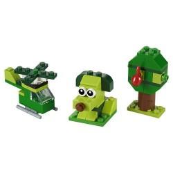 GROSSISTA LEGO 11007 MATTONCINI VERDI CREATIVI