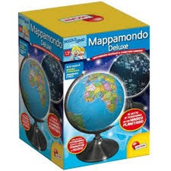 GROSSISTA I'M A GENIUS MAPPAMONDO DE-LUXE 24X36X24CM 7/10ANN