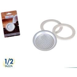 GROSSISTA RICAMBIO CAFFETTIERA 1/2 TAZZA PZ.3