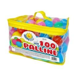 GROSSISTA SACCA 100 PALLINE COLORS DIAM.6CM.