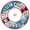 GROSSISTA SALVAGENTE SAMP D.52 CM CON SCRITTA CANTIAMO TUTTI