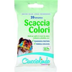 GROSSISTA SALVIETTE SCACCIA COLORI PZ.20 CUCCIOLIN