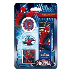 GROSSISTA SPIDERMAN GOMME PZ.4 IN BLISTER 3+ANNI 17X11