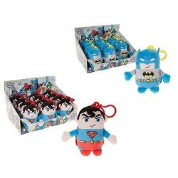 GROSSISTA SUPERMAN & BATMAN 11CM PORTACHIAVI