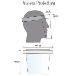 GROSSISTA VISIERA PROTEZIONE ANTI COVID-19